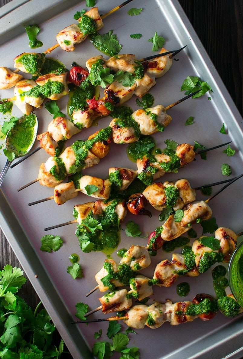 Garlic Cilantro Sauce Recipe Chicken Kitchen