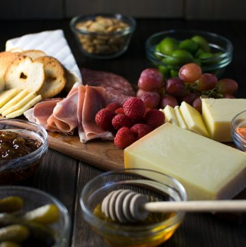 "<span class=""entry-title-primary"">How to Build the Perfect Charcuterie Board</span> <span class=""entry-subtitle"">An assortment of our favorite meats and cheeses for the perfect charcuterie board.</span>"
