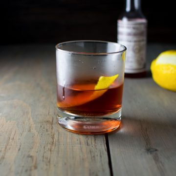 "<span class=""entry-title-primary"">Sazerac Cocktail Recipe</span> <span class=""entry-subtitle"">The official cocktail of New Orleans. Rye, sugar, Peychaud's bitters, absinthe, and lemon peel.</span>"