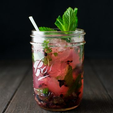 "<span class=""entry-title-primary"">Strawberry Mojito Recipe</span> <span class=""entry-subtitle"">A classic mojito made with fresh muddled strawberries.</span>"