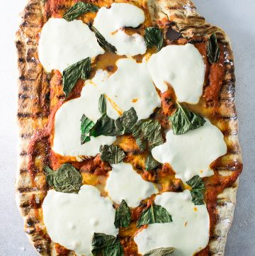 """<span class=""""entry-title-primary"""">How to Grill The Best Pizza You've Ever Had</span> <span class=""""entry-subtitle"""">Perfect, crispy grilled pizza that will rival anything you've ever had at your favorite pizza spot.</span>"""
