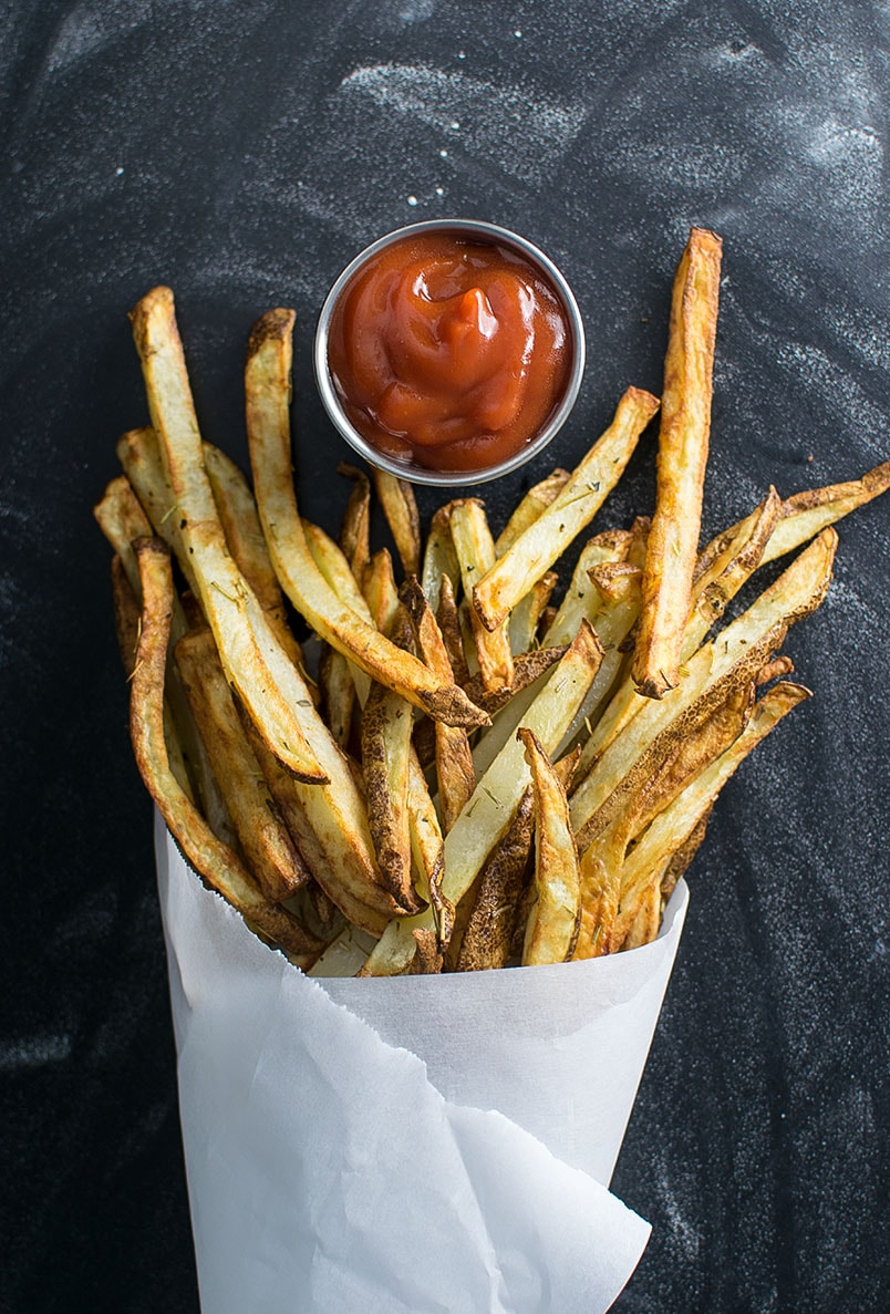 Craft Beer Baked French Fries