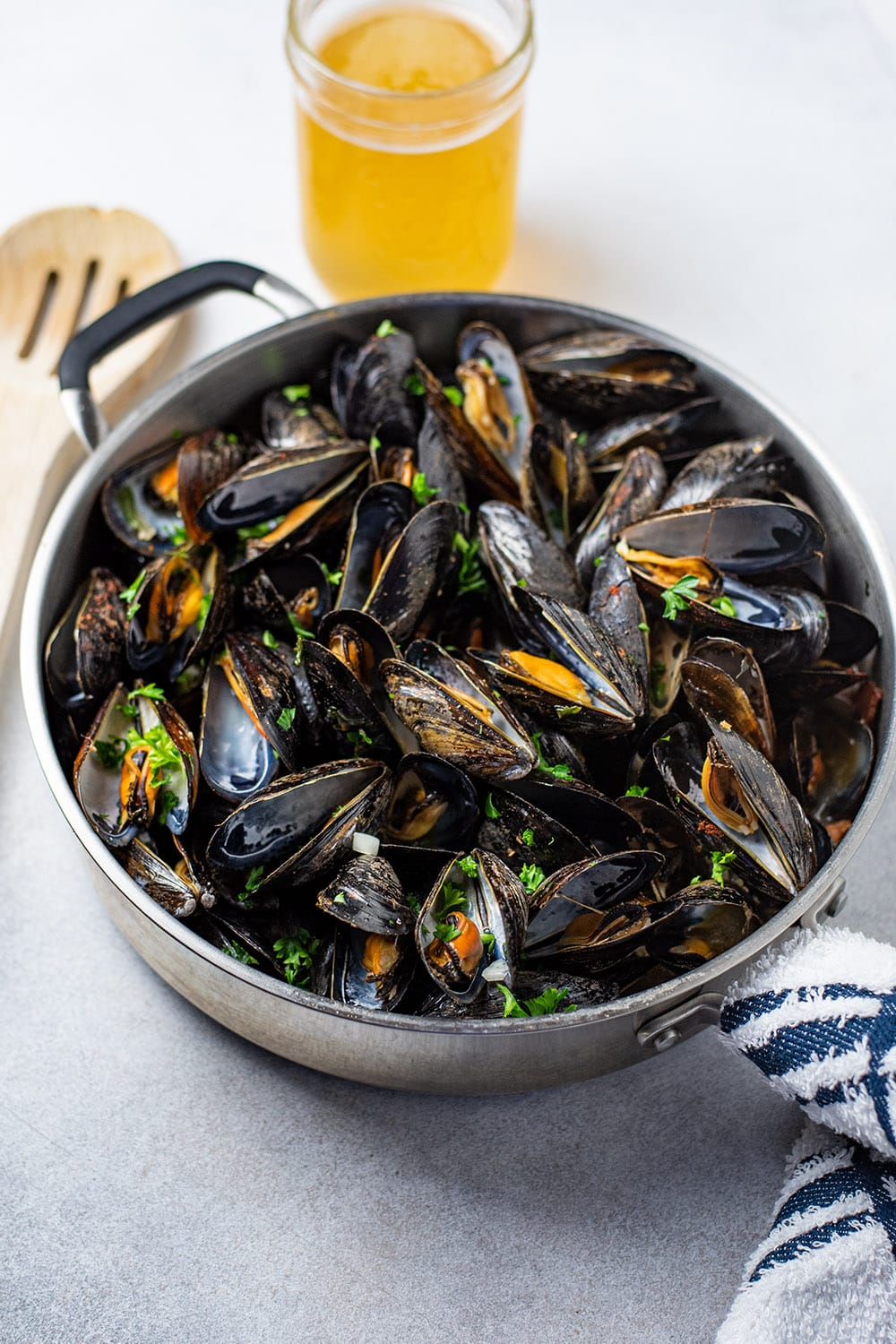 Steamed Mussels With Bacon & Beer Recipe