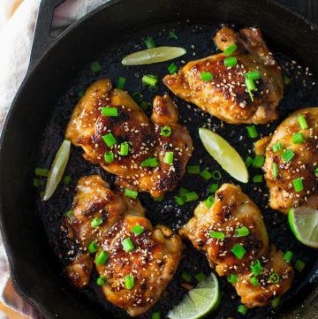 Sweet and Spicy Korean Chicken Thighs Recipe