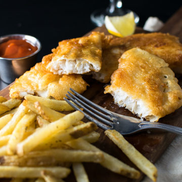 "<span class=""entry-title-primary"">Beer Battered Fish Recipe (Cod or Haddock)</span> <span class=""entry-subtitle"">Simple and delicious beer battered cod or haddock made with a juicy, New England Style IPA.</span>"