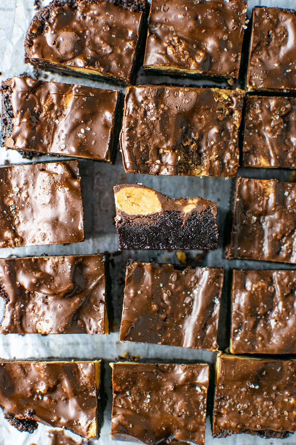 Reese's Peanut Butter Cup Crack Brownies Recipe