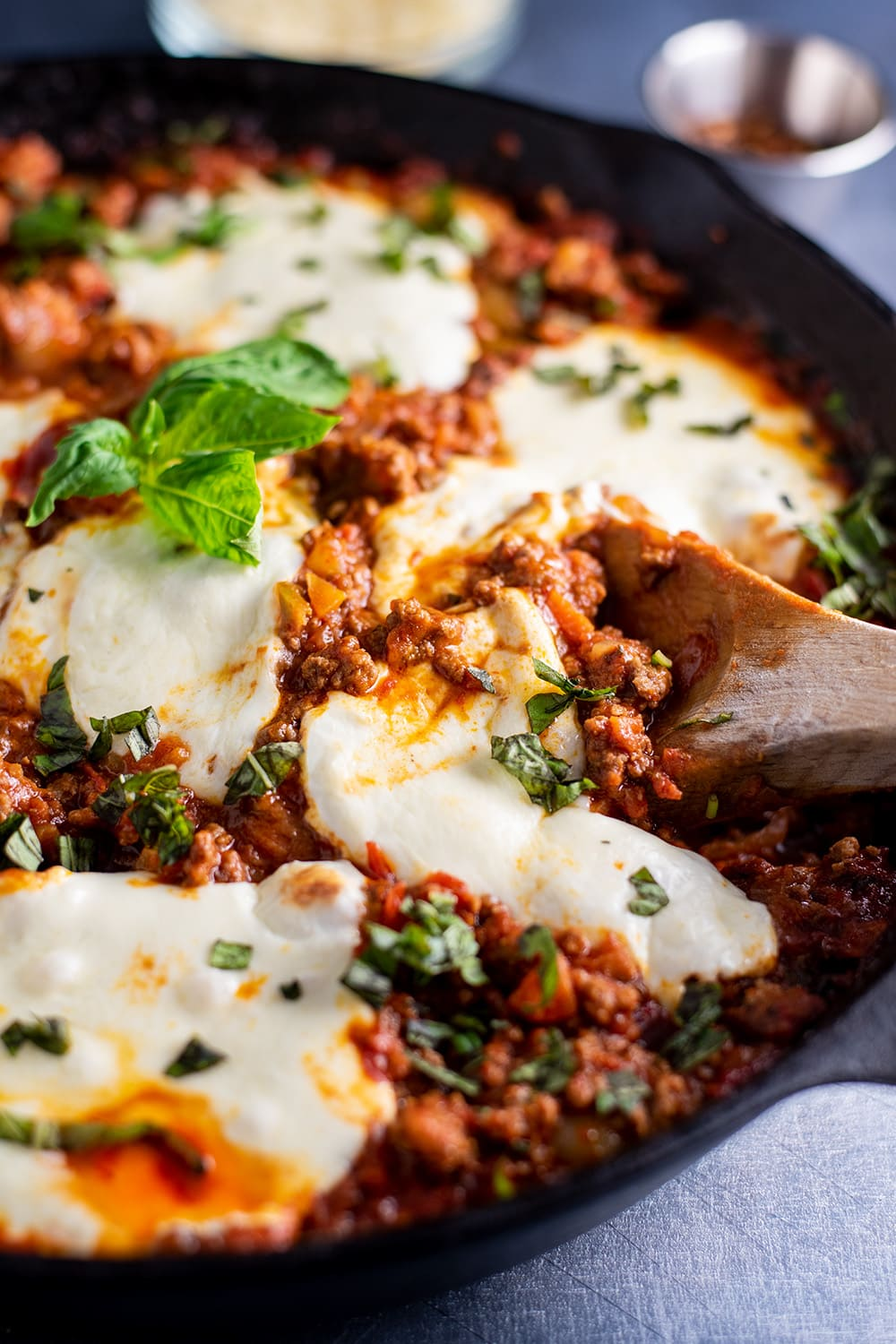 Cheesy Gnocchi Bolognese with Mozzarella Recipe