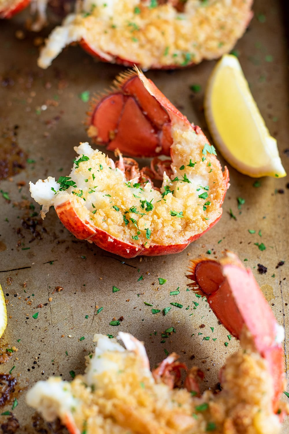 Baked Lobster Tails Recipe Kitchen Swagger