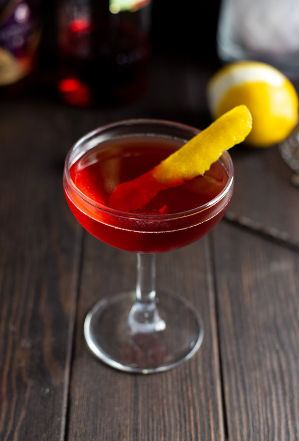 Classic Boulevardier Cocktail with a Twist