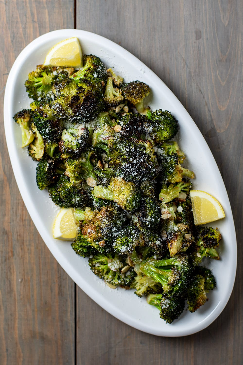 Roasted Broccoli with Lemon and Parmesan Recipe
