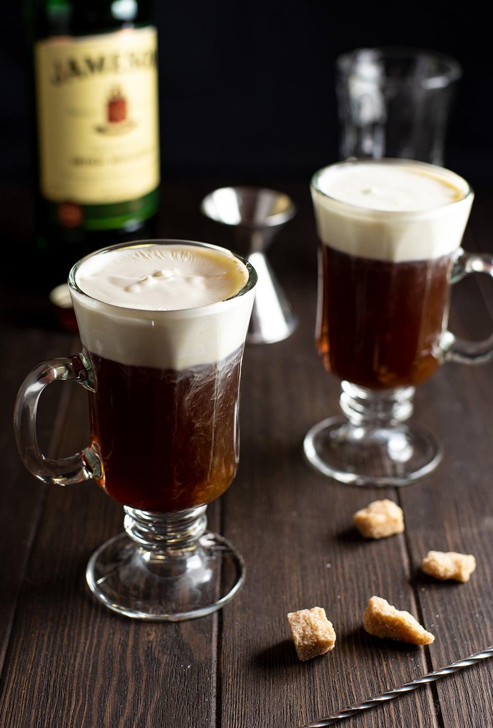 San Francisco Inspired Irish Coffee Recipe
