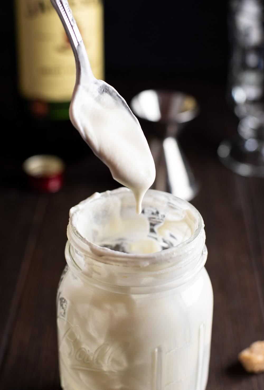San Francisco Inspired Irish Coffee Recipe - whipped cream