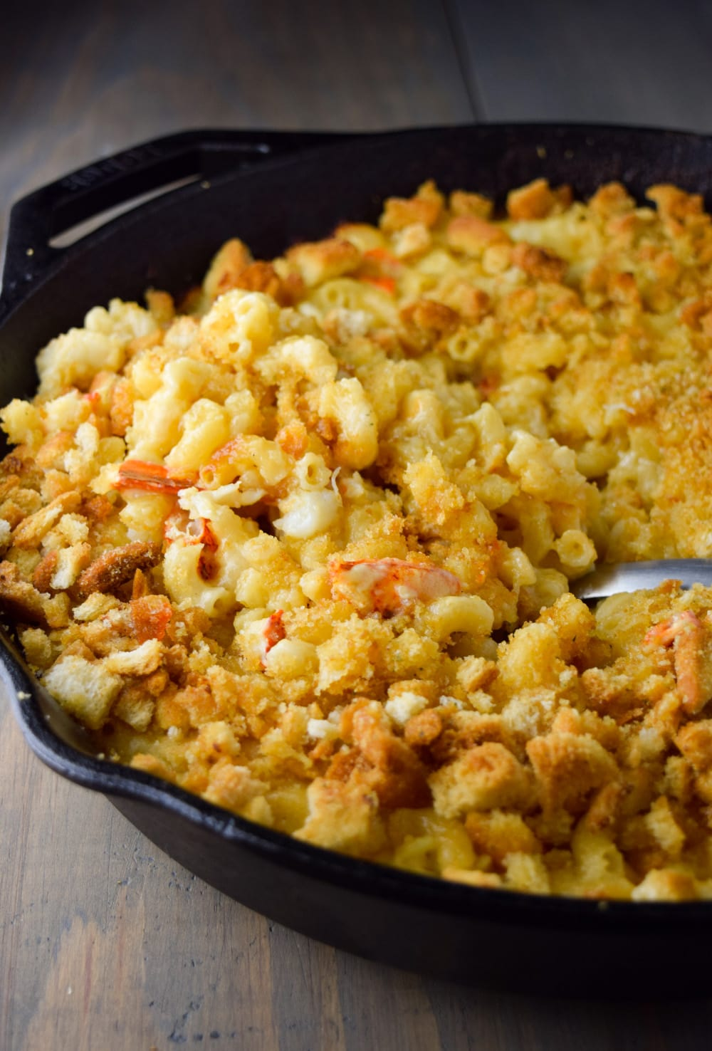 Skillet Lobster Mac and Cheese Recipe