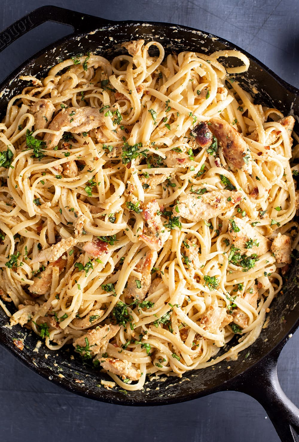 Creamy Chicken Carbonara Recipe