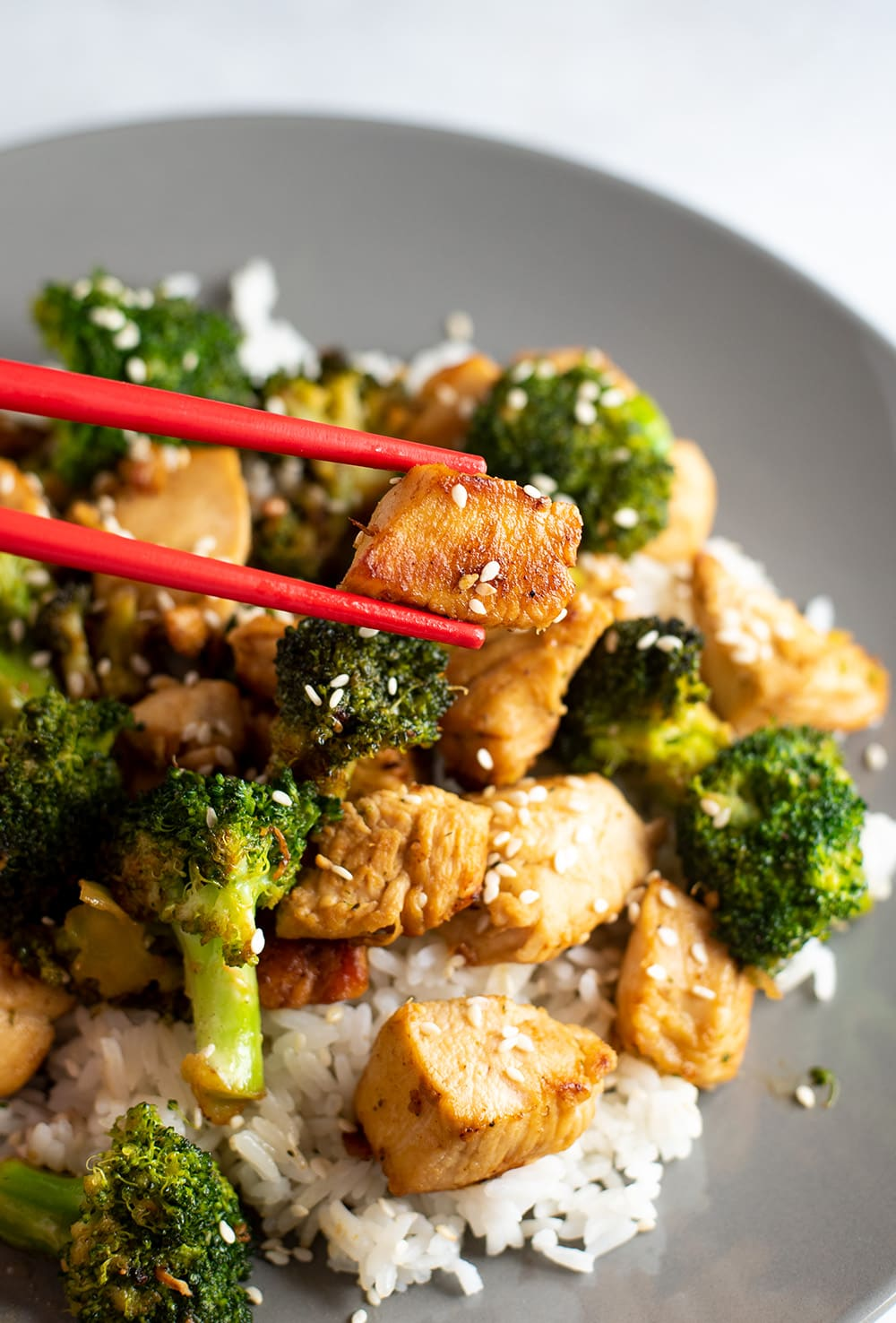 Hibachi Chicken & Broccoli Recipe