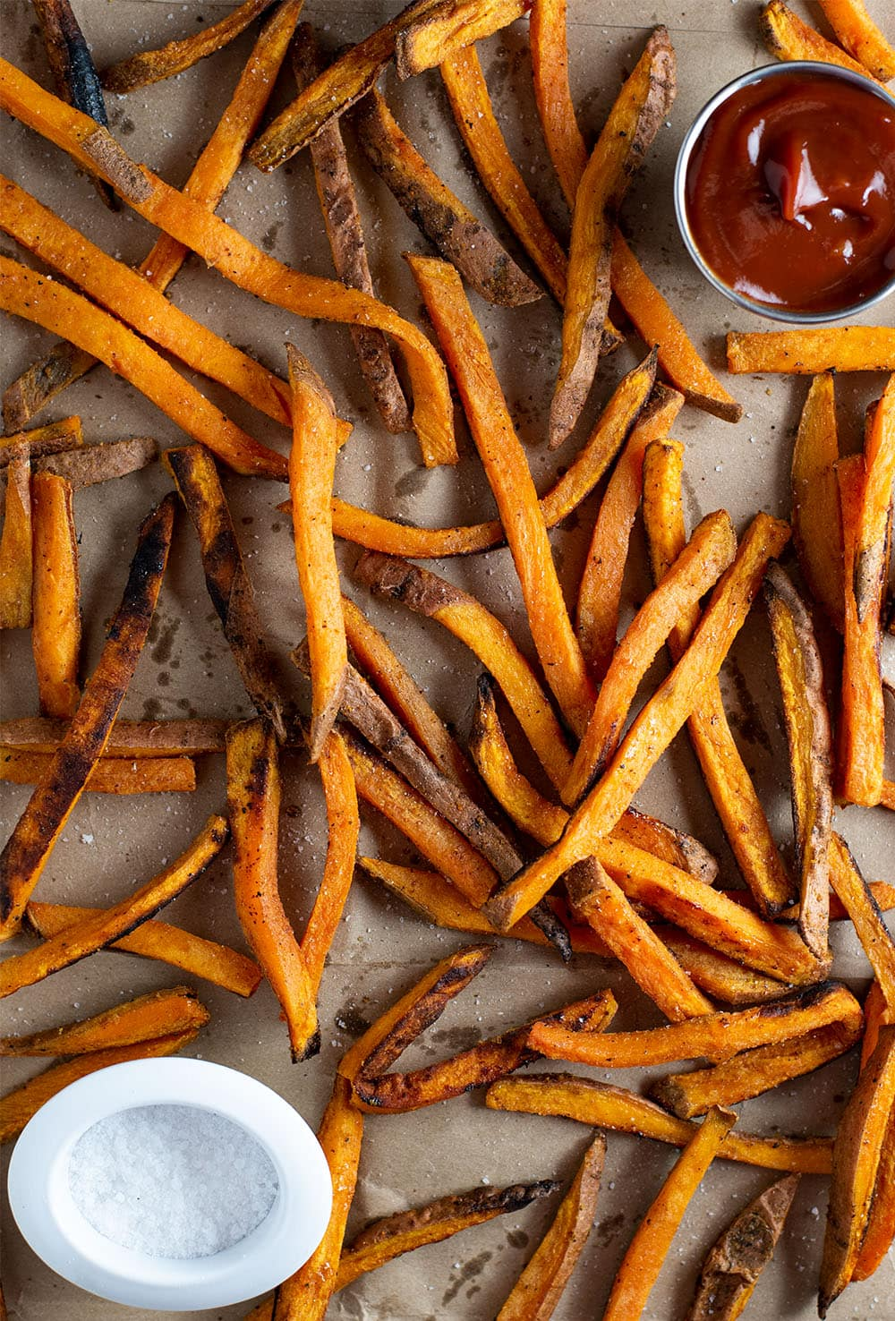 Baked Sweet Potato Fries Recipe Kitchen Swagger