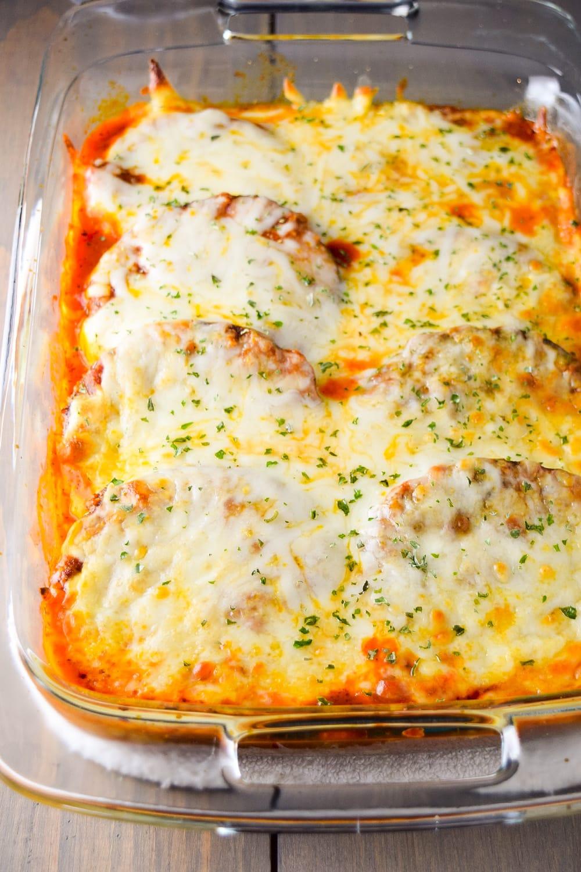 Easy Eggplant Parmesan Recipe