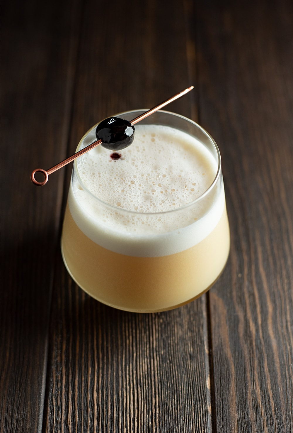 Classic Whiskey Sour Cocktail