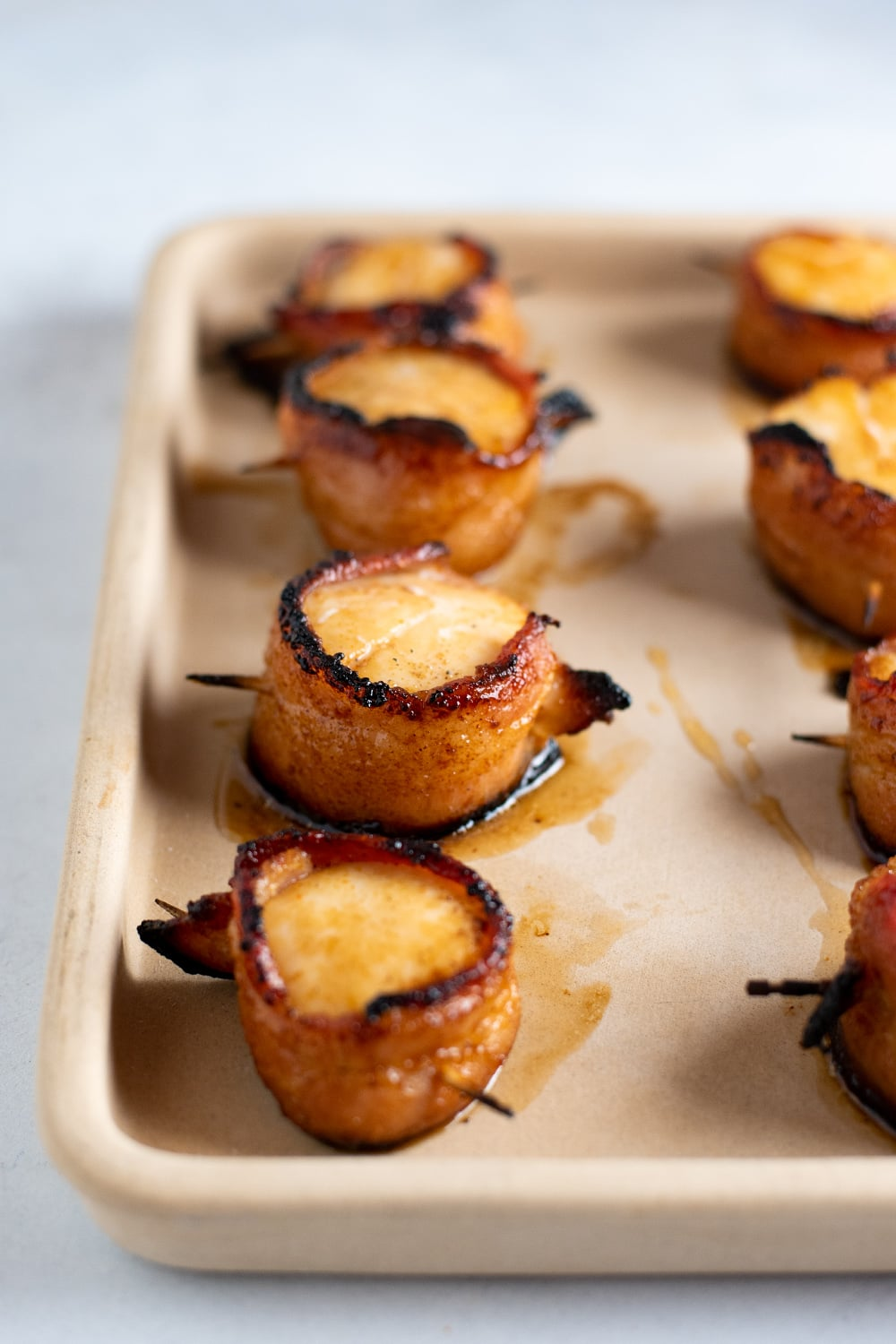 Sweet & Smokey Bacon-Wrapped Scallops