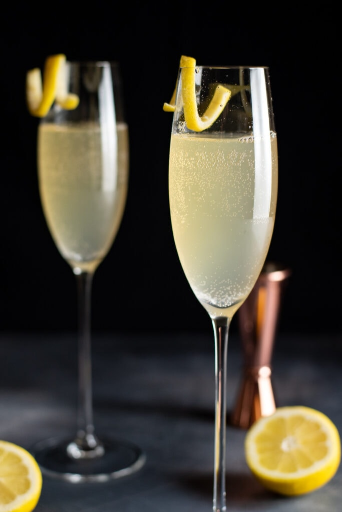 The Number 100 Champagne Cocktail