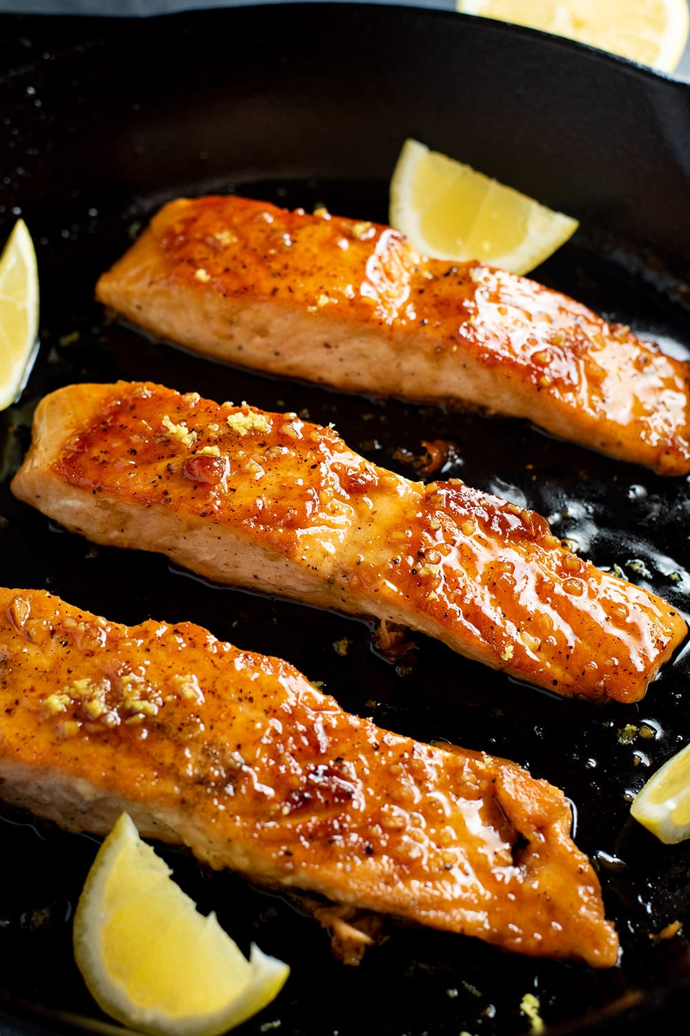 Bourbon Glazed Salmon Recipe