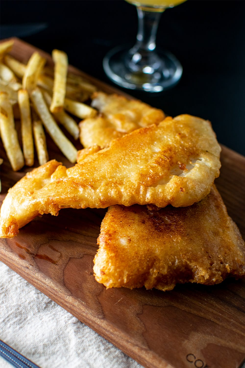 Beer Battered Fish Recipe (Cod or Haddock)