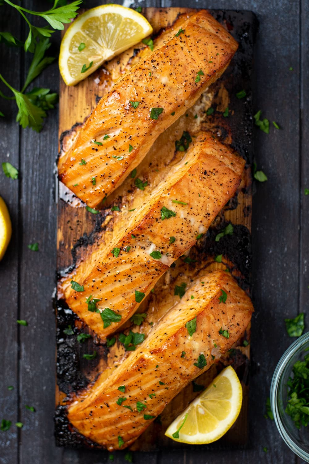 Grilled Cedar Plank Salmon Recipe
