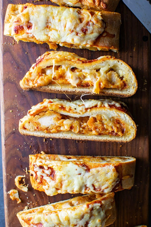 Chicken Parmesan Calzone Recipe