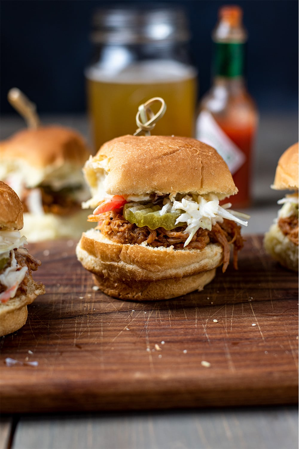 BBQ Pulled Pork Sliders Recipe