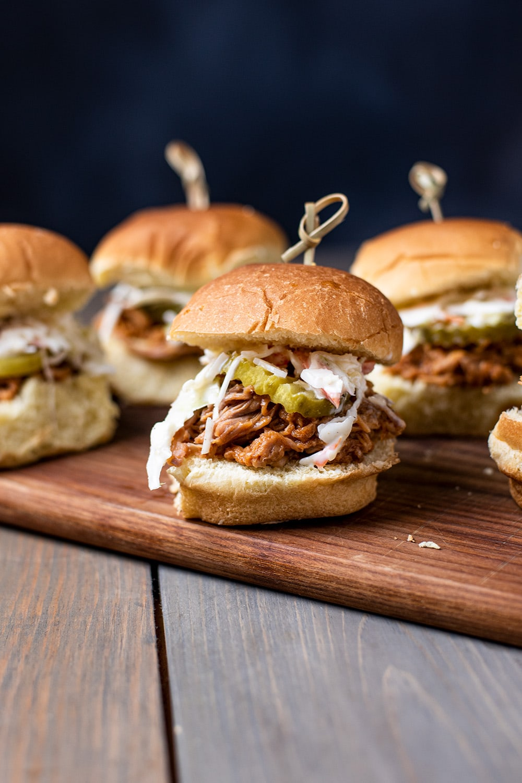 BBQ Pulled Pork Sliders Recipe
