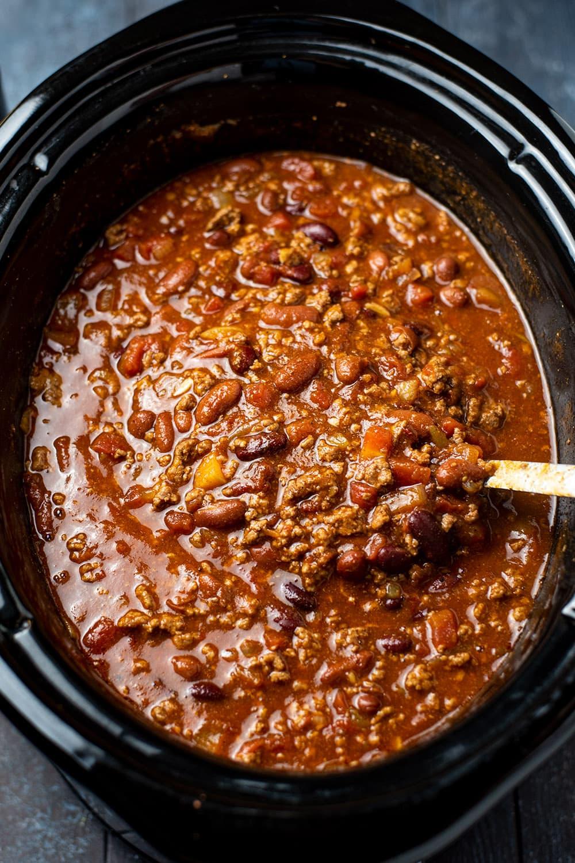 Chili in a Crock-Pot
