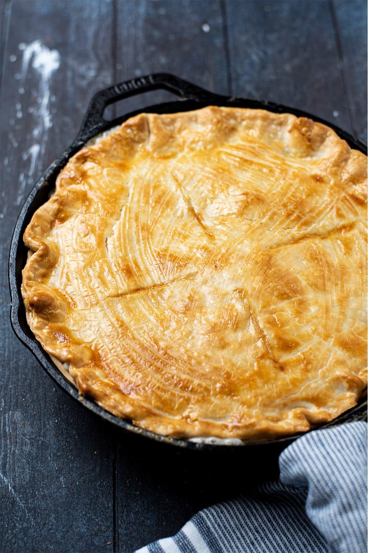 Skillet Chicken Pot Pie Recipe