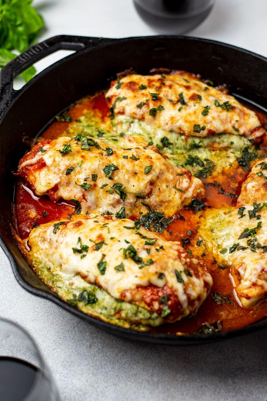 Mozzarella Stuffed Chicken Breast Recipe