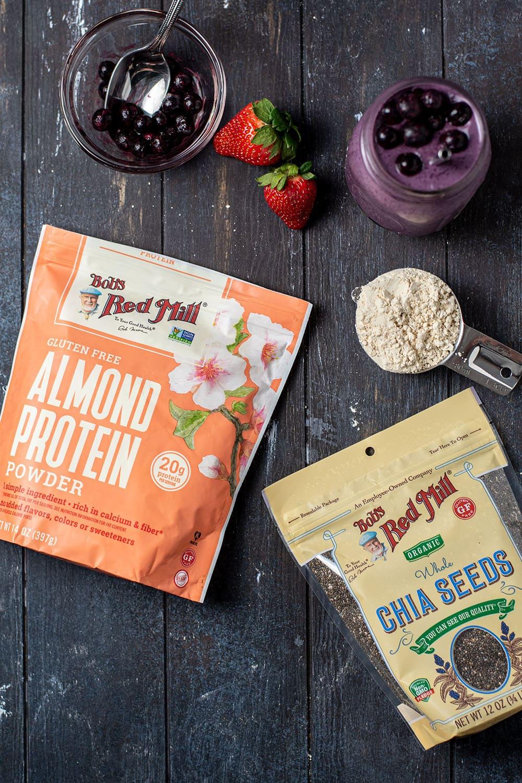 Frozen Berry Protein Smoothie Recipe