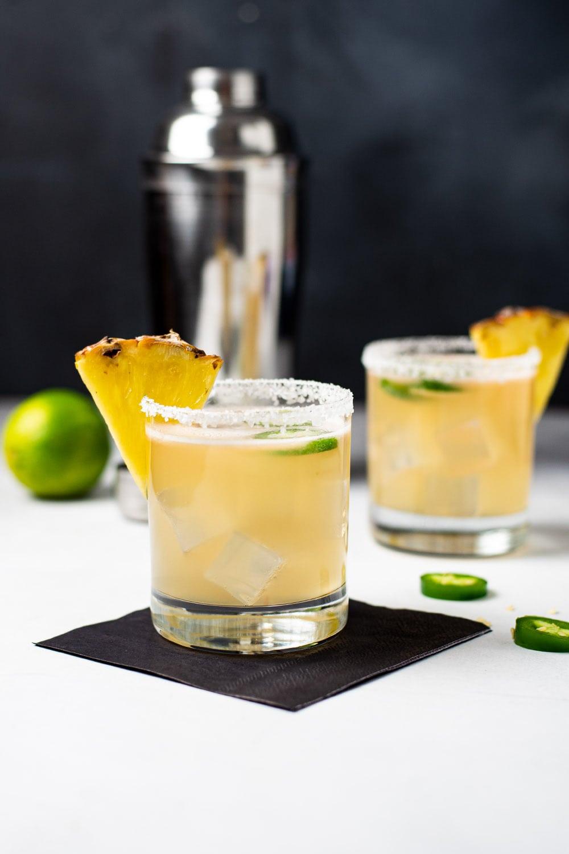 Spicy Pineapple Jalapeno Margarita Recipe