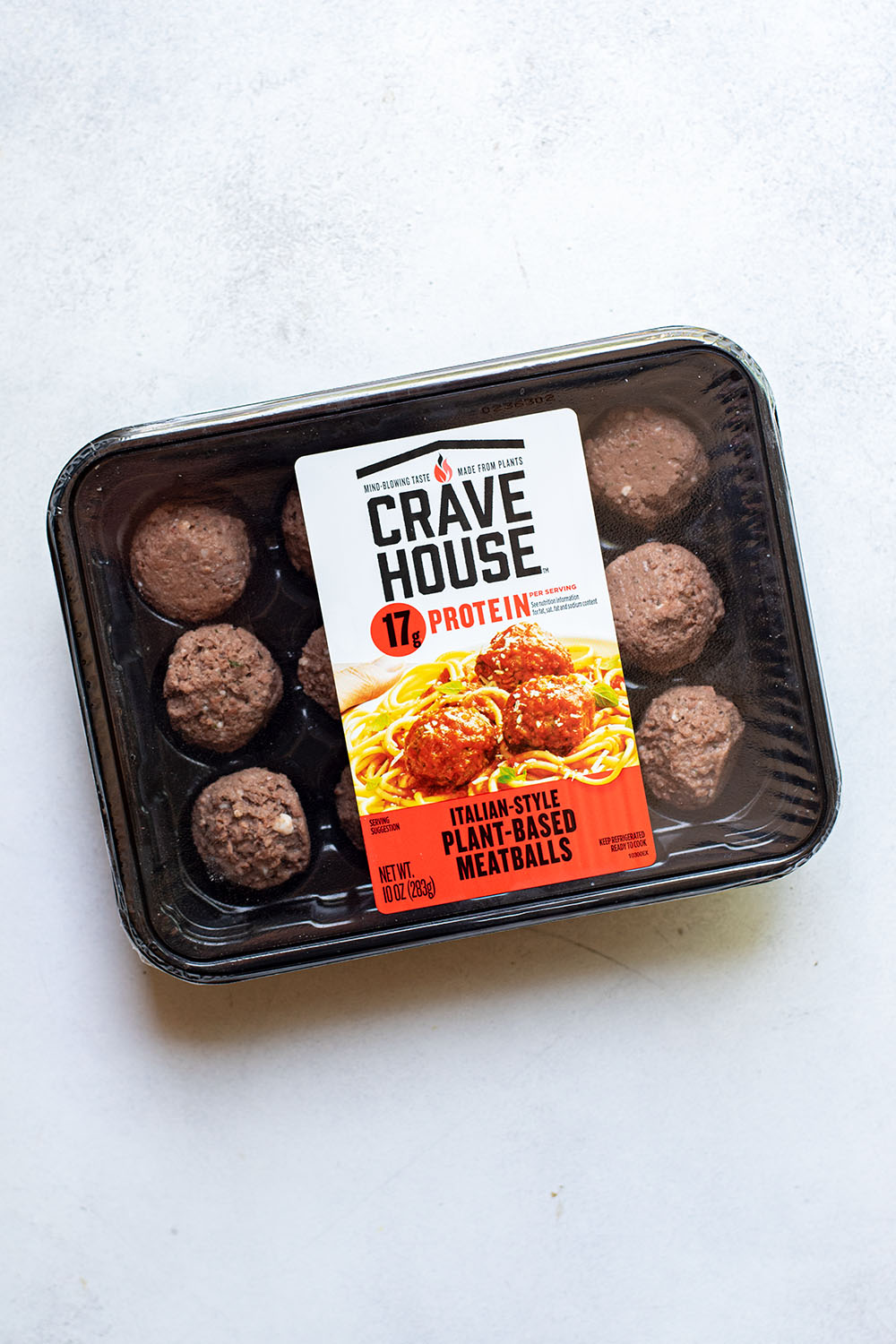 Crave House Italian-Style Plant-Based Meatballs