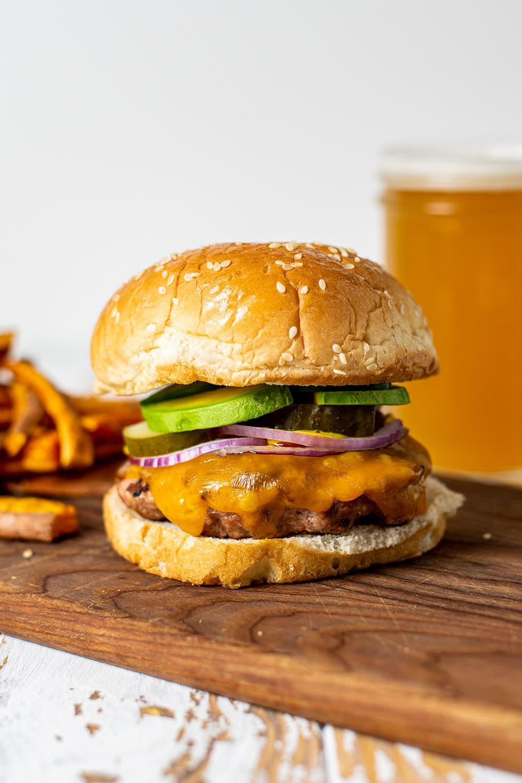 The Very Best Turkey Burger Recipe